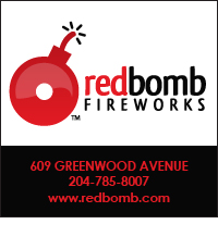 Red Bomb Fireworks