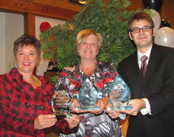 2012 Award Recipients from the Selkirk and District Chamber of Commerce